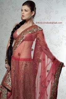 Girls+Wear+Sari+011