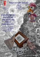 encuentro encajeras de bolillos Rivas-Vaciamadrid 2013