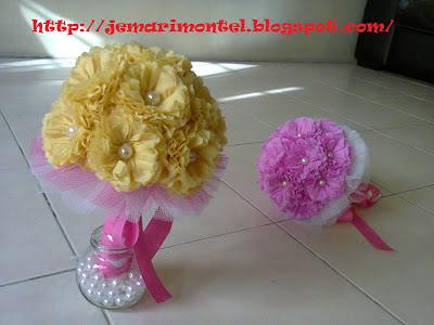 pearl hand bouquet, bunga tangan manik mutiara