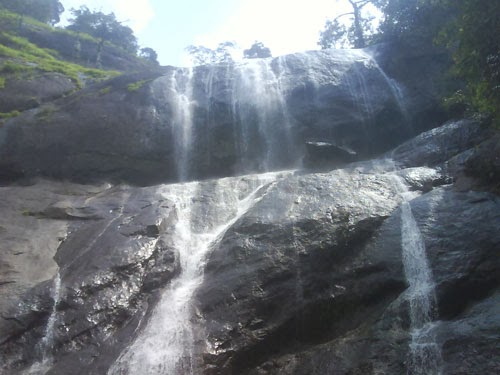 Cascading charm of Karithode waterfalls