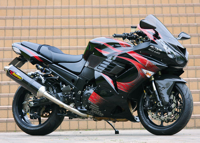 Planet Japan Blog: Kawasaki ZZR 1400 by Active