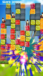 Screenshots of the Fruit crush for Android tablet, phone.