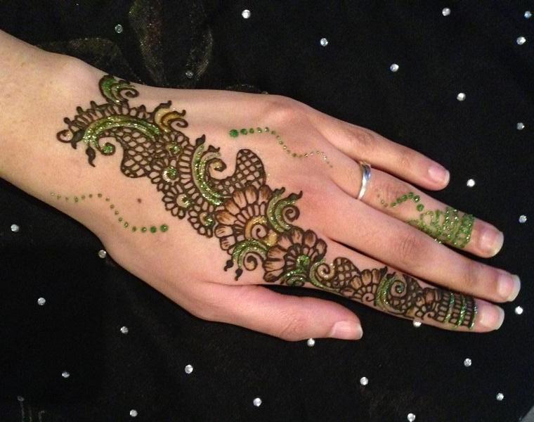 Mehndi Designs Hands S Free Download : Bridal mehndi designs latest fancy glitter
