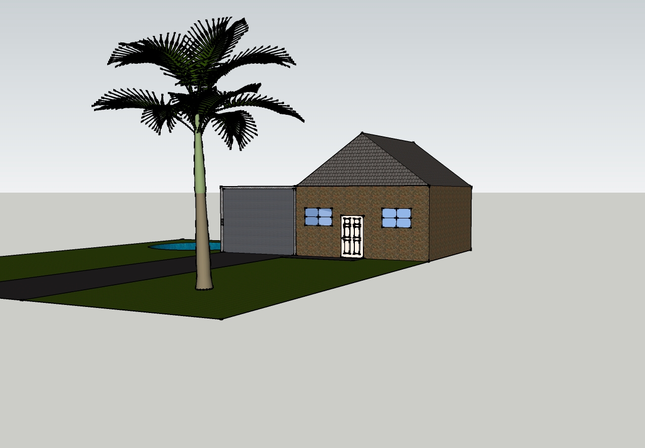 tech design: my house from sketchup google
