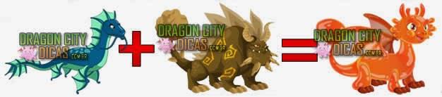 Cruzamentos para fazer o Dragão Geleia