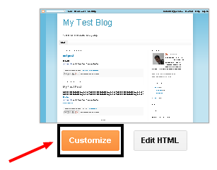 how to change post title background color in blogger blogspot
