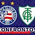 Todos os confrontos de Bahia x América-MG