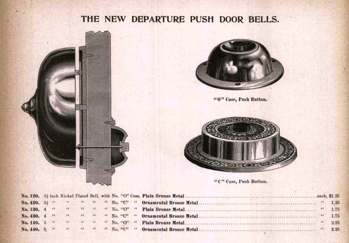 New Departure Doorbell on