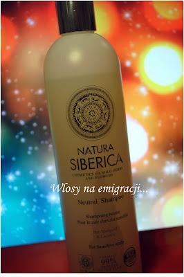 Szampon Neutralny Natura Siberica.