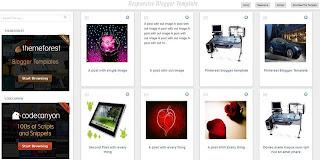 Pinterest Clone Responsive Design