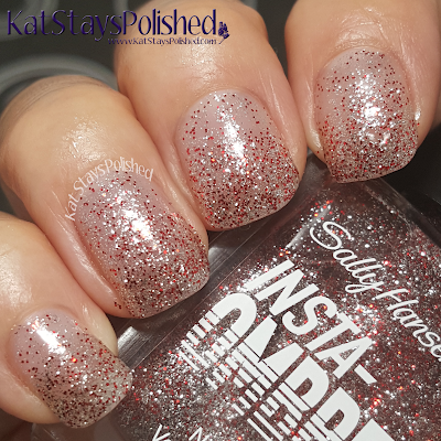 Sally Hansen Insta-Ombre - Scarlet Spark | Kat Stays Polished