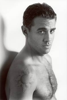 Bobby Cannavale shows off his newborn son