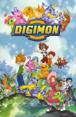 Capa de Digimon Adventure
