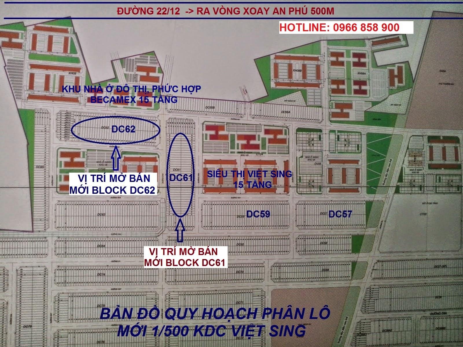 Đất nền Việt Sing, VSIP 1 Bình Dương ảnh 3