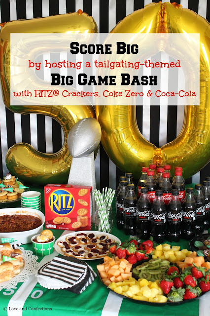 Score Big with a Big Game Bash from LoveandConfections.com #ScoreMoreFans