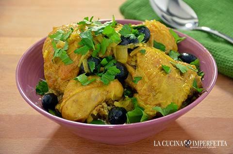 Pollo speziato al limone