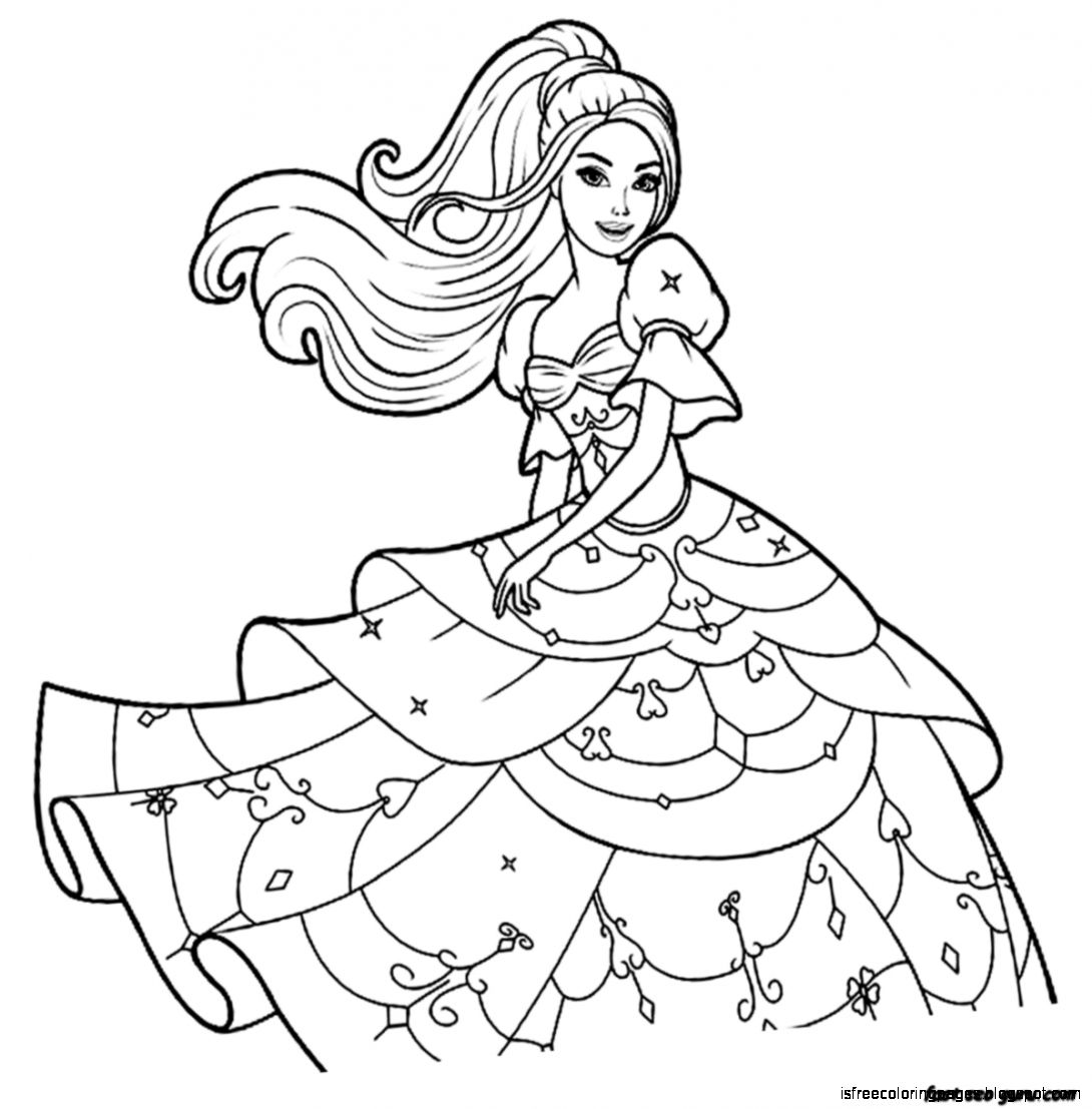 coloring page barbie - barbie coloring pages free coloring pages