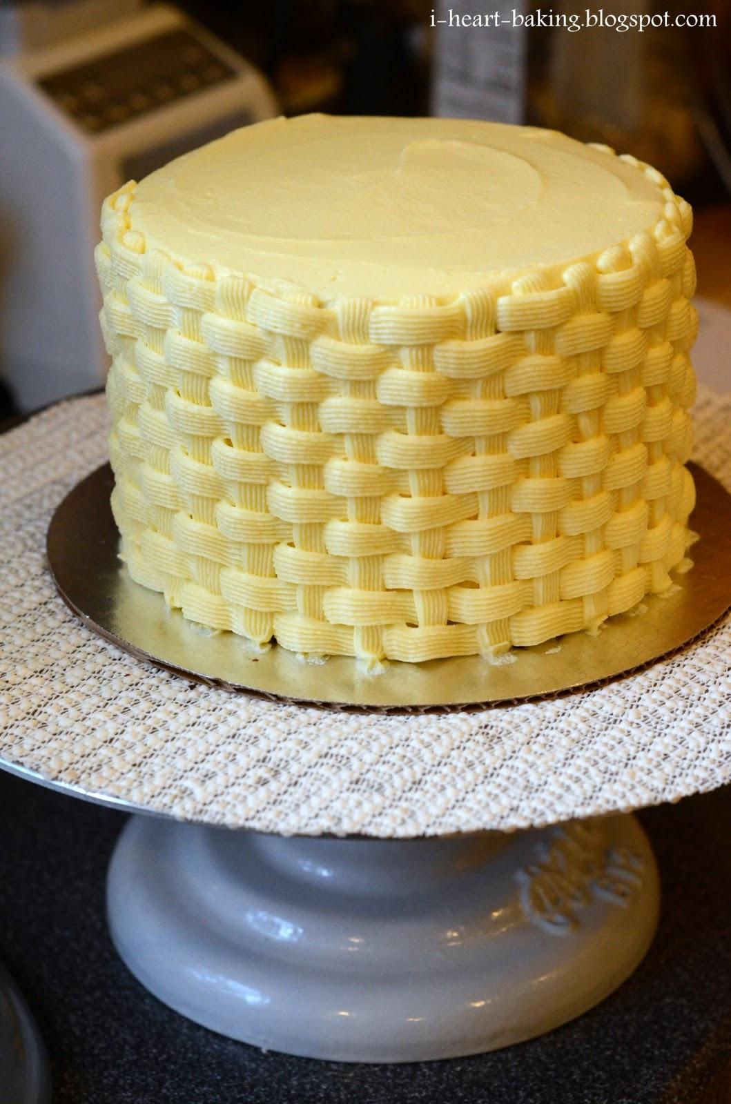 Using Split Buttercream In Cake