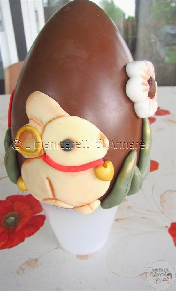 uovo  di pasqua in stile thun