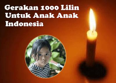 Gerakan 1000 lilin untuk Angeline