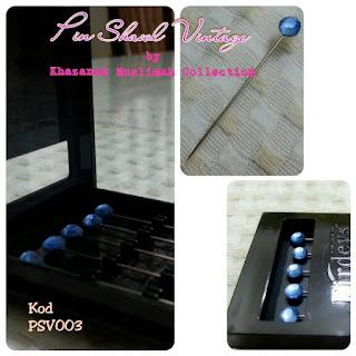 Pin Shawl Turki PSV003 Biru Langit