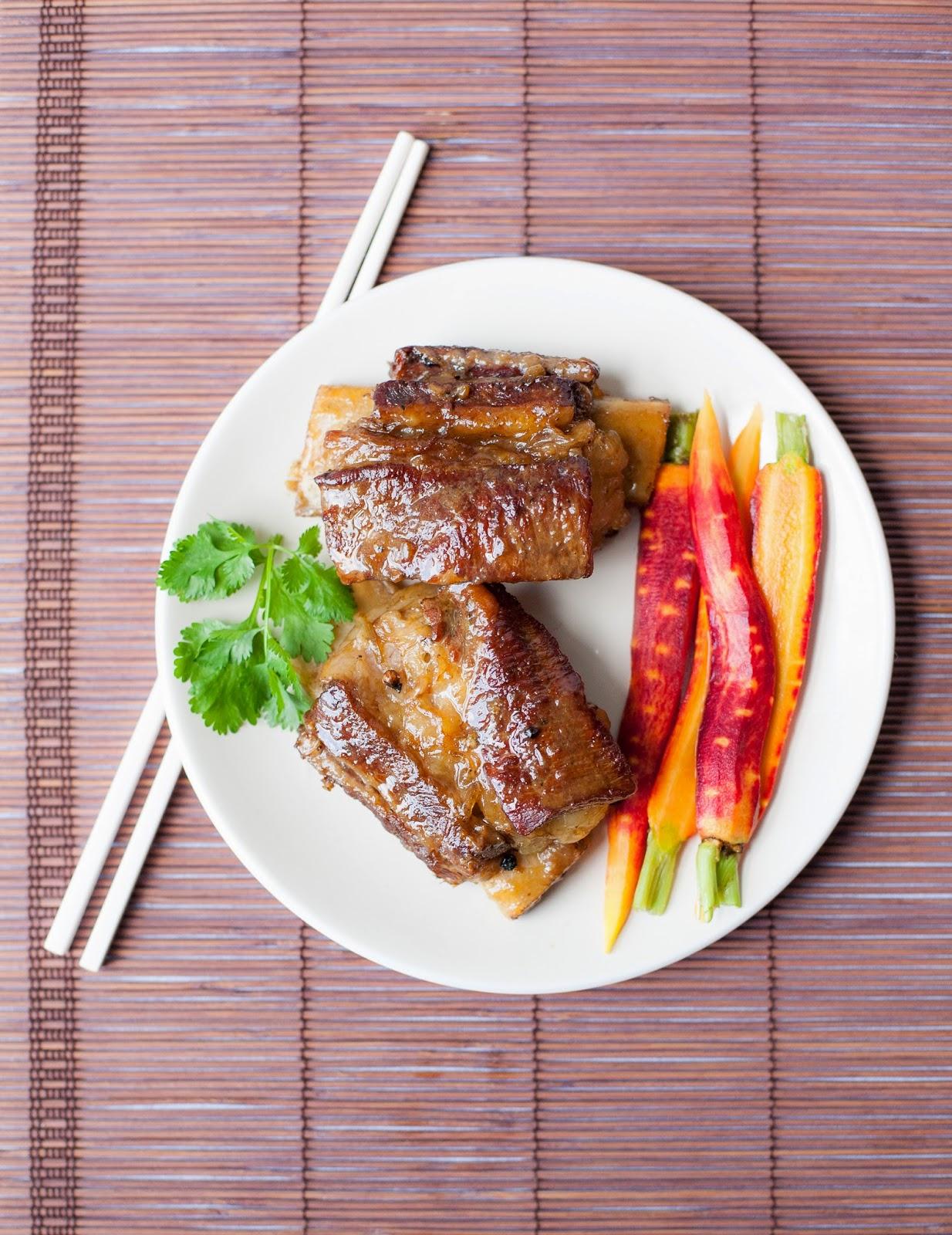 kratiem prik thai short ribs with quick pickled carrots a