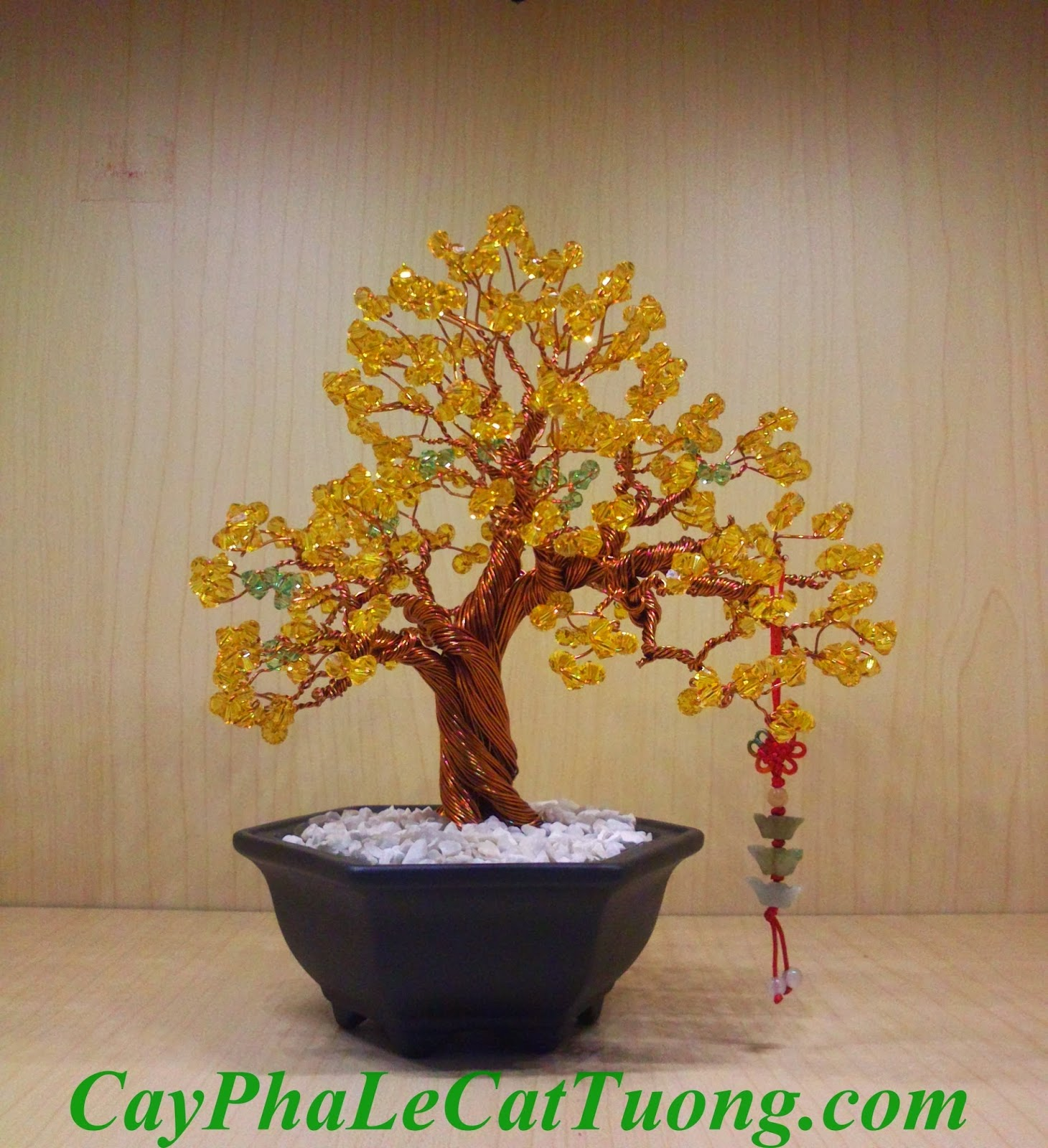 Cây pha lê màu vàng - Mạng Thổ