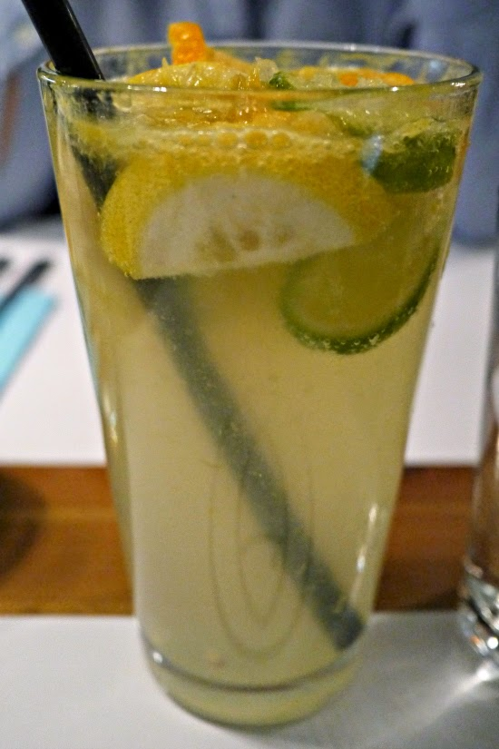 Bigfish seafood restaurant lemonade