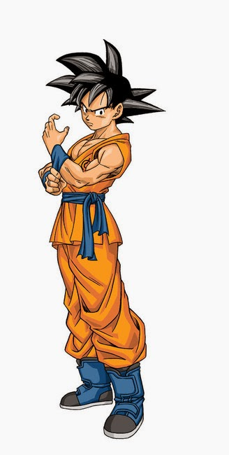 Goku in Dragon Ball Super