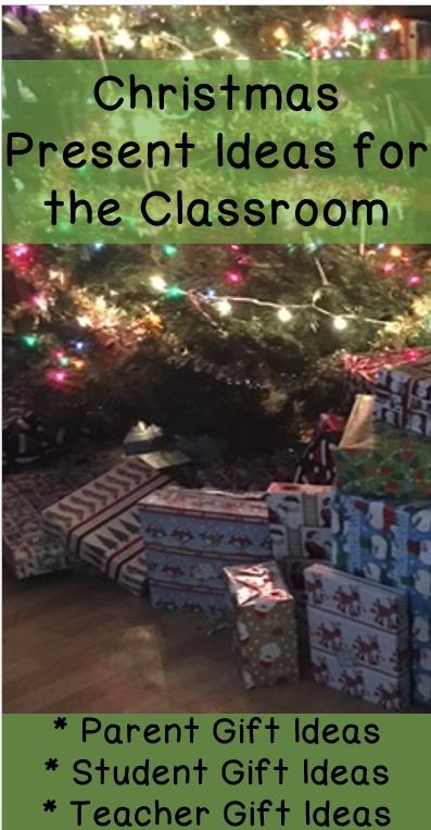 Classroom christmas parent gift ideas