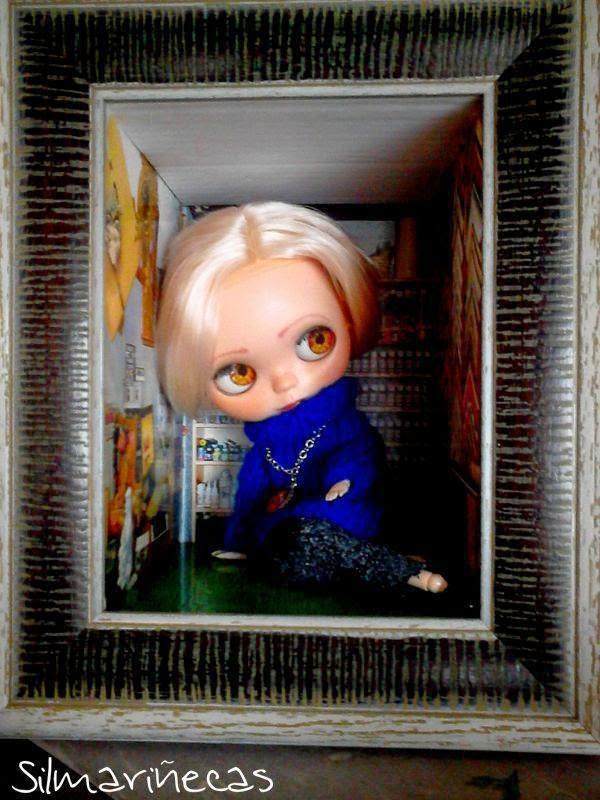 custom basaak doll y diorama por silmariñecas