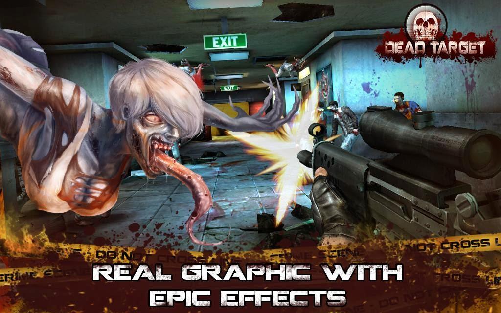 Game Dead Target Zombie APK Mod MEGA