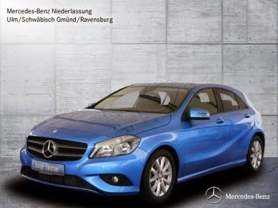 Mercedes-Benz A 180 Suedseeblau