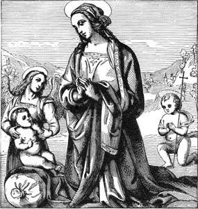 Madonna By Perugino