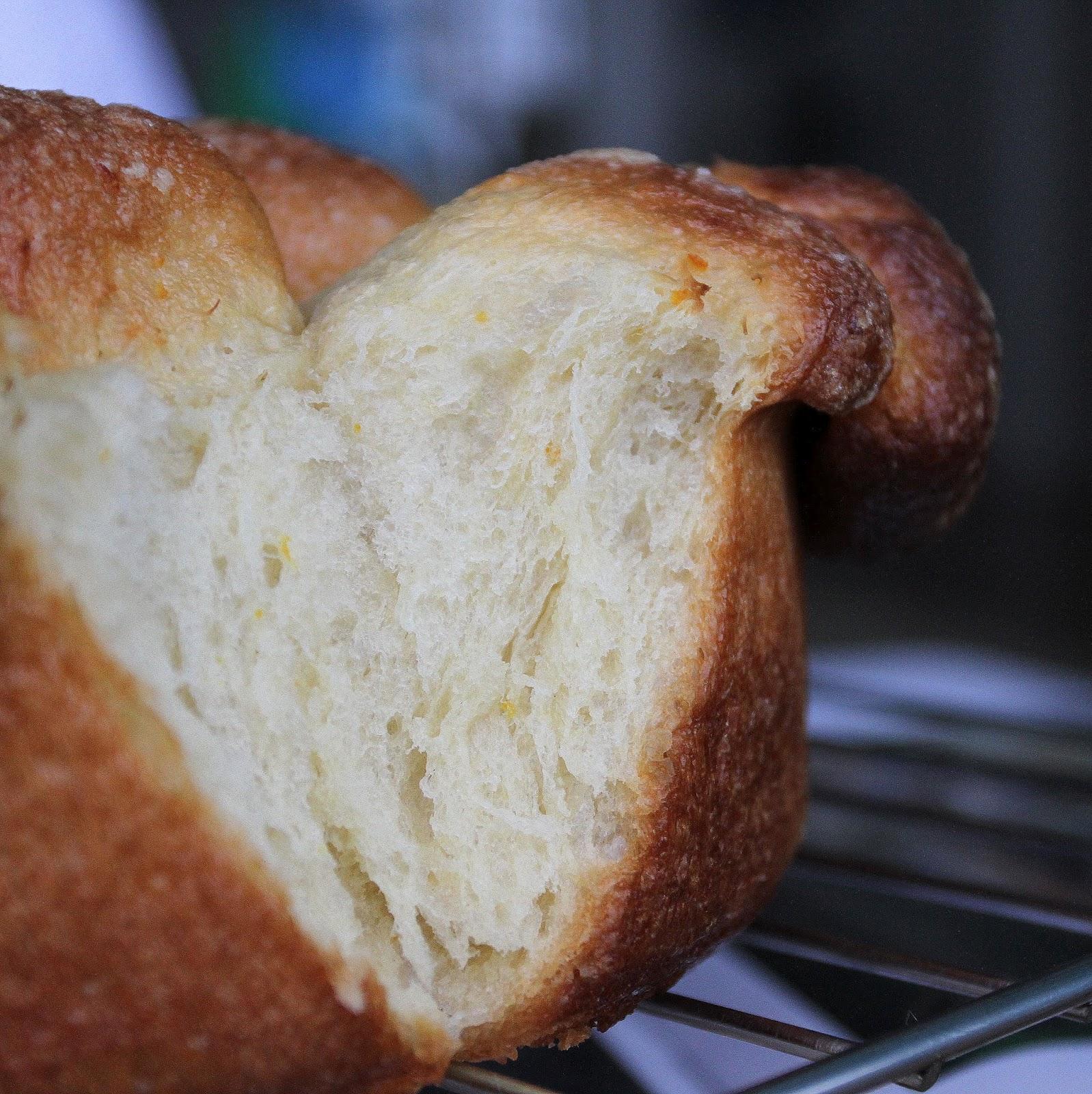 pepsakoy: Orange Pull-apart Loaf
