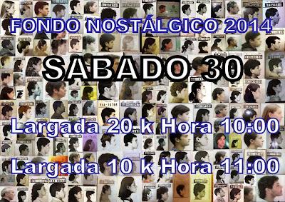 Fondo nostálgico en rambla de Montevideo (20k y 10k, sáb 30/ago/2014)