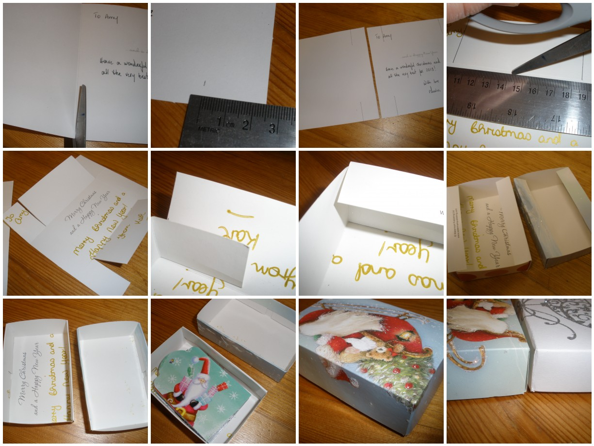 Christmas Card Boxes   Holliday Decorations
