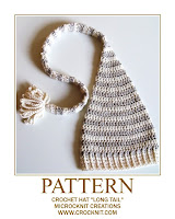 crochet patterns, how to crochet, long tail, pixie, elf, baby hats, newborn,