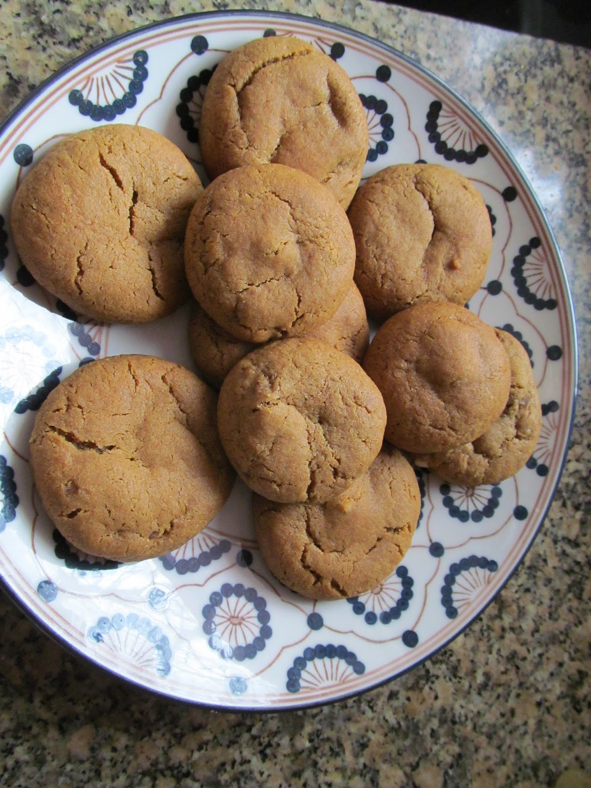 Mother's Kitchen: Triple Ginger Cookies