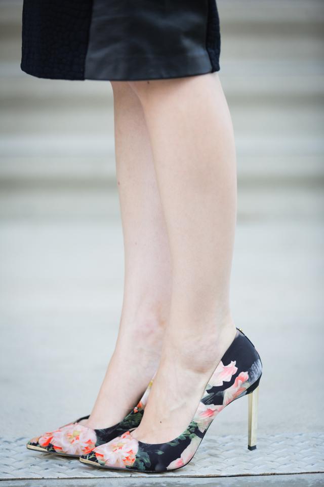 Ted Baker Opulent Floral Print heels on M Loves M @marmar