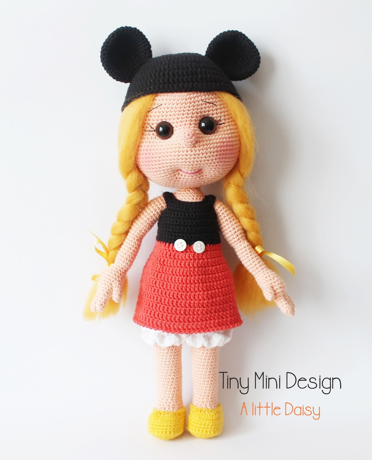 Amigurumi Miki Mouse ~ jadesf.com for .
