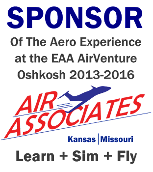 Air Associates Sponsor of The Aero Experience at EAA AirVenture Oshkosh 2013-2016