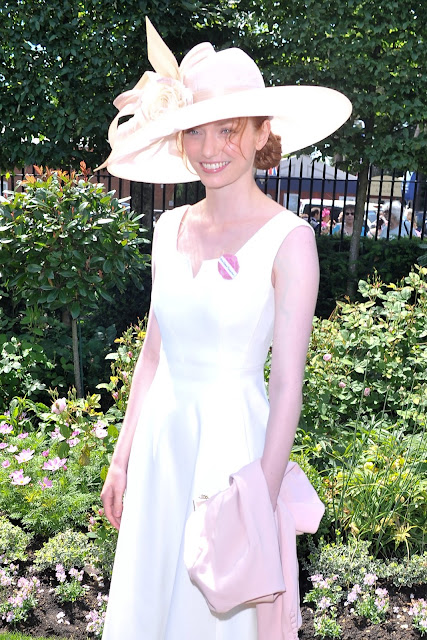 Actress @ Eleanor Tomlinson - Radiant at Royal Ascot racecourse in Ascot