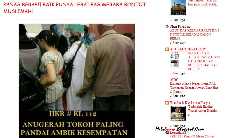 Kita sedia maklum isu lucah memang menjadi senjata United Malays No ...