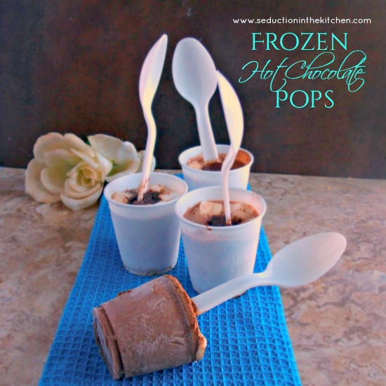 Frozen Hot Chocolate, a sweet treat for every kid out there, young and old. A recipe from Seduction in the Kitchen