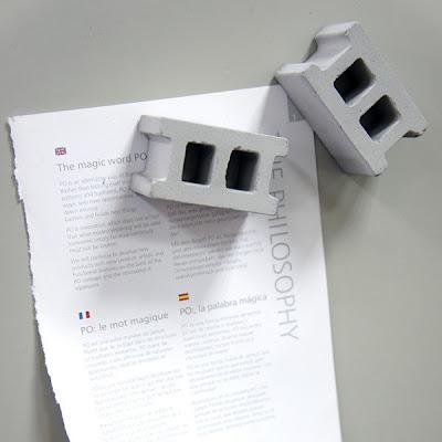 magnets shaped like concrete blocks
