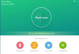Cara Root Lenovo A859