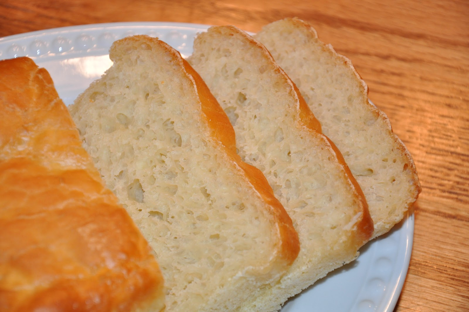 The Changeable Table: English Muffin Toasting Bread