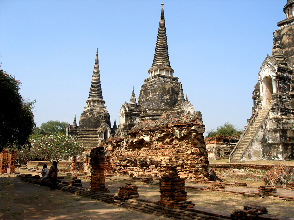 Tajland World-thailand-ruins-in-thailand