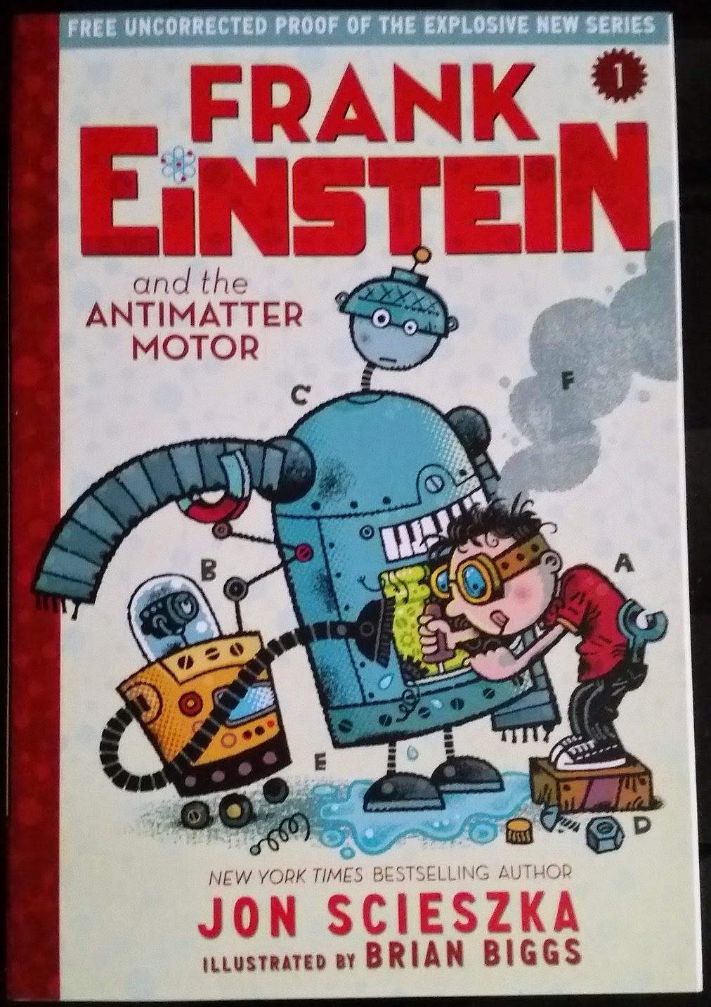 Elementaread review 39 frank einstein and the antimatter for Frank einstein and the antimatter motor